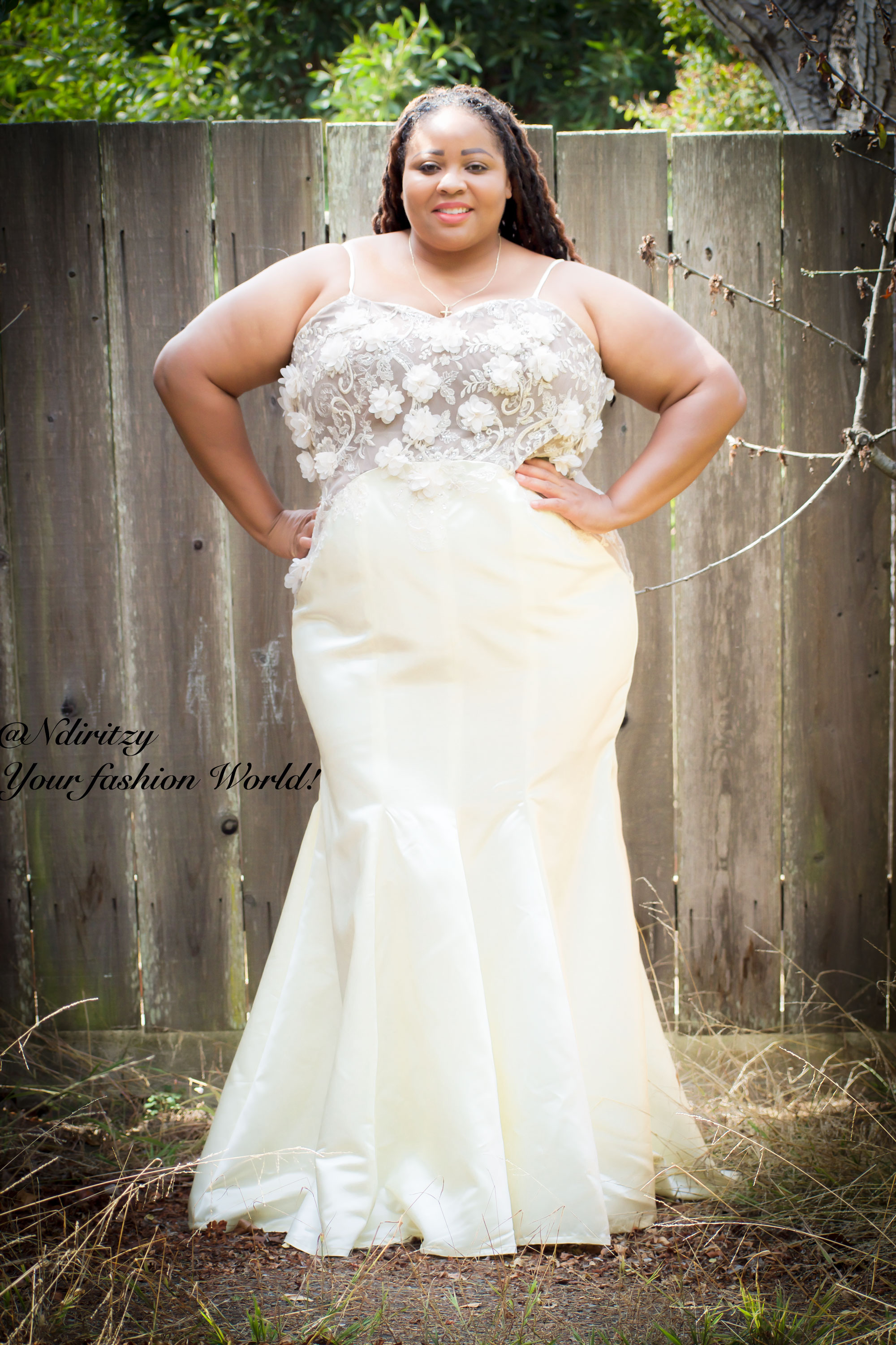 Plus size bridal dress – NdiRitzy