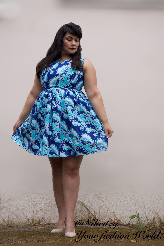 african print plus size dress – ndiritzy