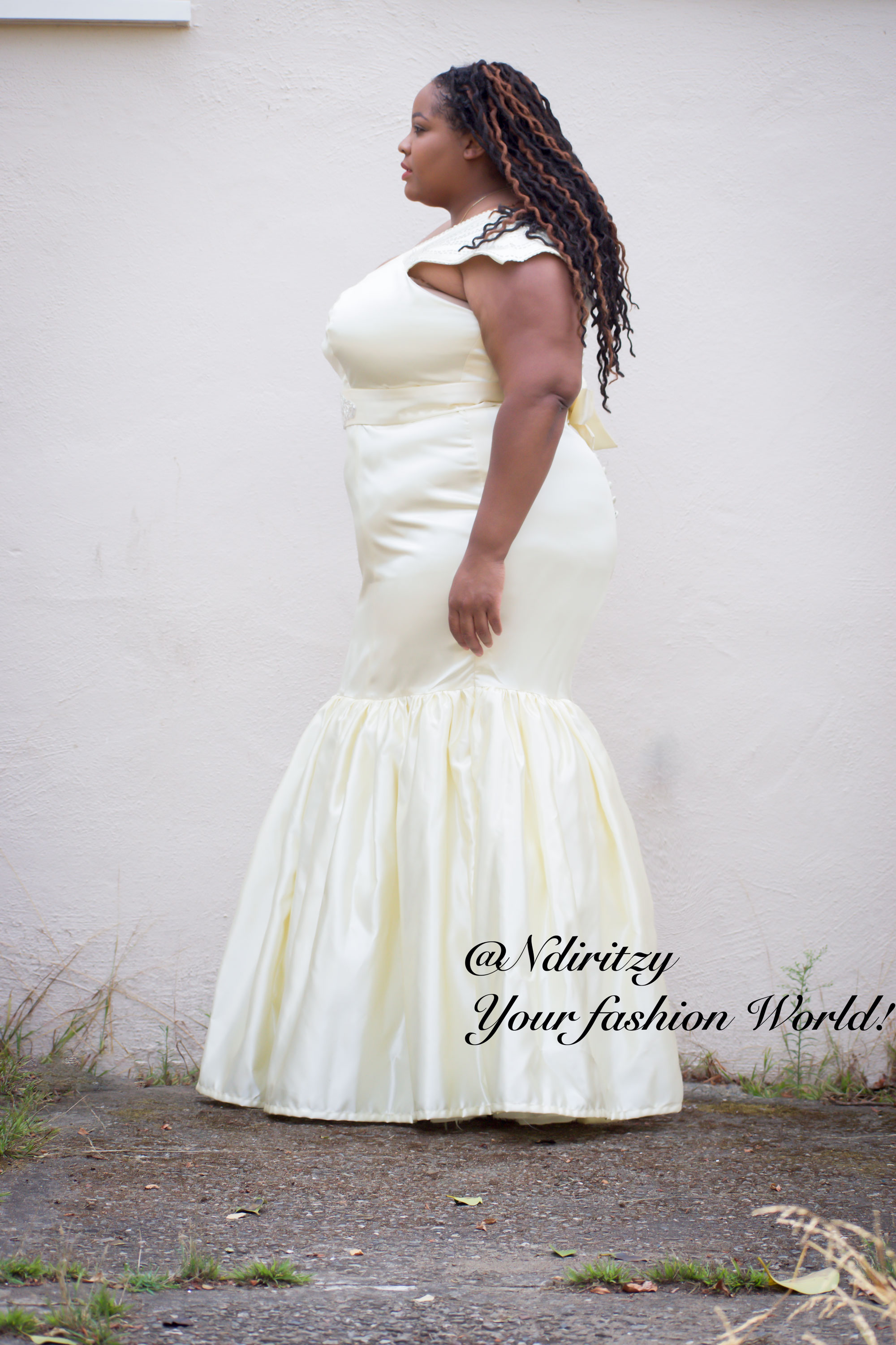 Plus size bridal gown ndiritzy for Couture plus size wedding dresses